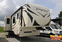 2016 FOREST RIVER VENGEANCE 39R12 TOY HAULER FIFTH WHEEL